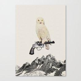 Perch #1 Canvas Print