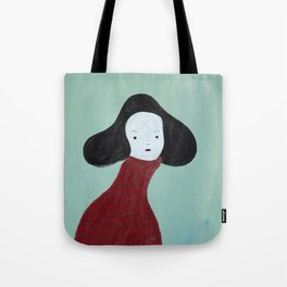 My Red Sweater Tote Bag