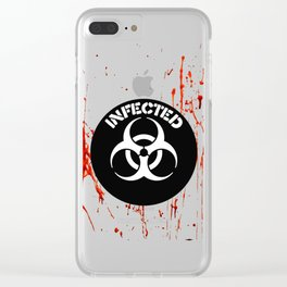 Zombie Iphne Cases | Biohazard | Infected Clear iPhone Case