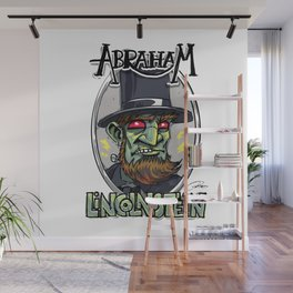 Evil Scout: Founding Fearfather Abraham Lincolnstein Wall Mural