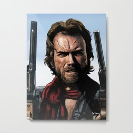 Clint Eastwood - The Outlaw Josey Wales Metal Print