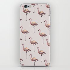 Flamingo and Sloth iPhone Skin