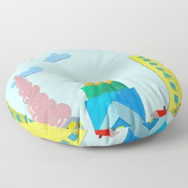 Maybe it's a beautiful day  Floor Pillow