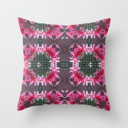 PATTERN LILY STARGAZER 2 BLOSSOM Throw Pillow