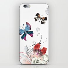 Butterfly Spring iPhone & iPod Skin