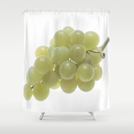 White Grapes  Shower Curtain