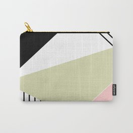 Abstract geometric pattern Lola Carry-All Pouch