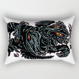 Hedorah Kaiju Print FC Rectangular Pillow