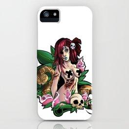 .:Zombie Girl:. iPhone Case