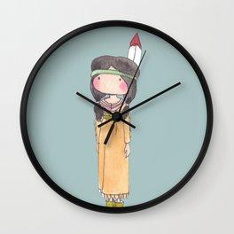 Peter Pan's Tigerlily Wall Clock