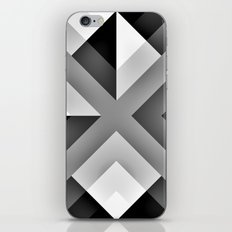 Monochrome Gradient Abstract iPhone & iPod Skin