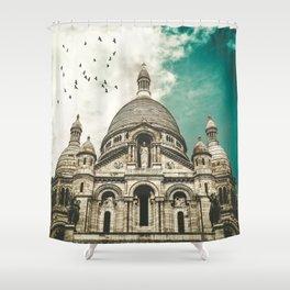 Sacré-Coeur Basilica Shower Curtain