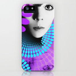 Supermodel Penelope 2 - Supermodels of the Sixties Series iPhone Case