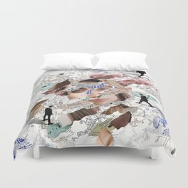 Direction Search Duvet Cover