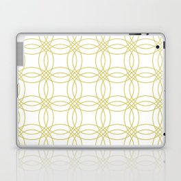 Simply Vintage Link Mod Yellow on White Laptop & iPad Skin