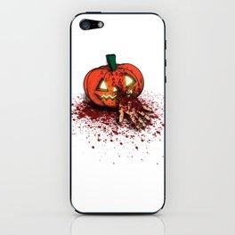 Bloody Pumpkin iPhone Skin