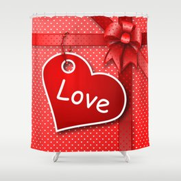 Valentine's  Gift G274 Shower Curtain