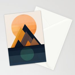 Twin Sun Stationery Cards