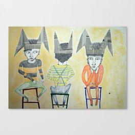 ANI KIKI E BOBO Canvas Print