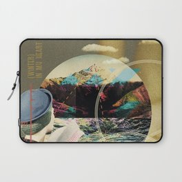 MUSICAL SEASONS. CLIPPINGS UNTITLED (series) Laptop Sleeve