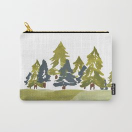 Varigated pine forest Carry-All Pouch