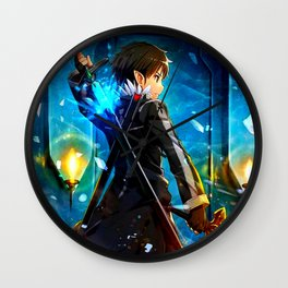 KIRITO - SWORD ART ONLINE Wall Clock