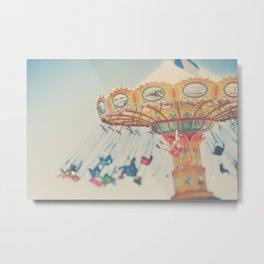 carnival swing I ... Metal Print