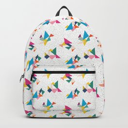 Deconstructed Tangrams Backpack