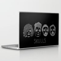 bastille Laptop & iPad Skins featuring Bastille Skulls by wellsi