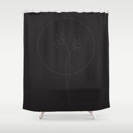 A Flower so Faint Shower Curtain