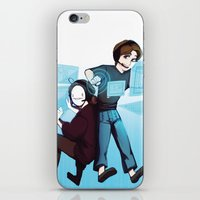 cryaotic iPhone & iPod Skins featuring Pewds and Cry by Hikkaphobia