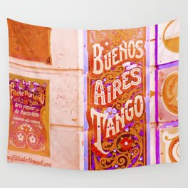 Tango Buenos Aires, Argentina. Wall Tapestry