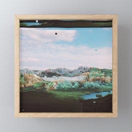 SVNVVTN Framed Mini Art Print