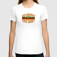 hamburger T-shirts featuring Hamburger by WAMTEES