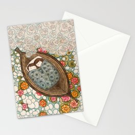 Boat Nap Stationery Cards