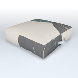 Line Female Figure 80 Outdoor Floor Cushion