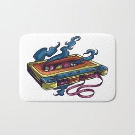 Old Cassette Bath Mat