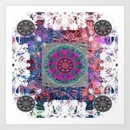 Unlocked Level Mandala Art Print