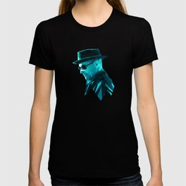 Heisenberg Who Knock Stained Glass T-shirt