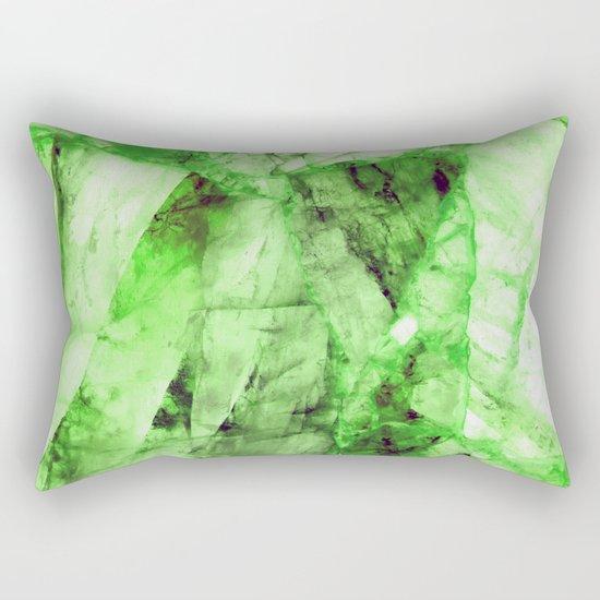 Green crystal Rectangular Pillow