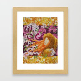 Jasmine - the best scent Framed Art Print