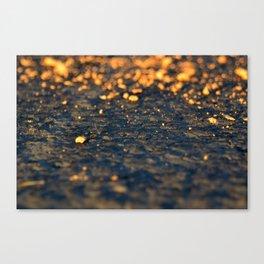 Dawn Stars Canvas Print