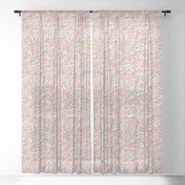Hunnewell, Warm Pink Sheer Curtain