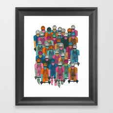 Pack (Peloton) Framed Art Print