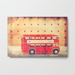 See London by Bus Metal Print
