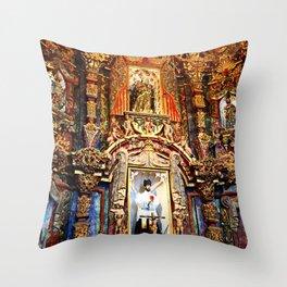 San Xavier 1 Throw Pillow