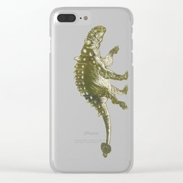 Euoplocephalus dinosaur Clear iPhone Case