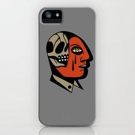 Skullhead tattoo iPhone Case