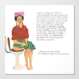 Frida Khalo Canvas Print