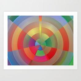 Barcelona Bullseye Art Print